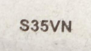 Lame acier S35VN