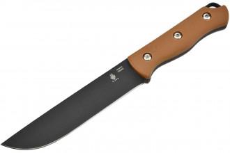 1034A2 Bush couteau à lame fixe lame en acier carbone 1095 et manche en G10