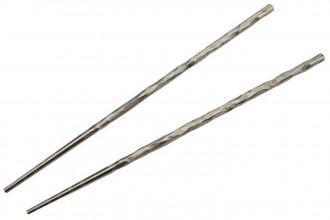 T309A1 Chopsticks Baguettes en titane pour le repas couleur gris