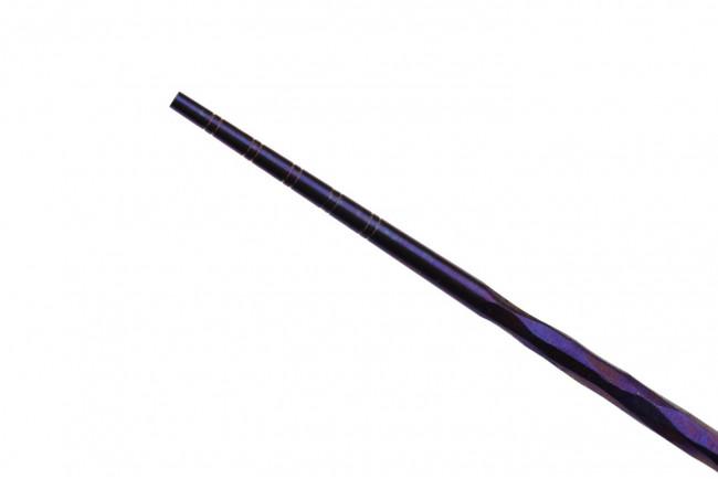 T309A3 Chopsticks Baguettes en titane pour le repas couleur violet