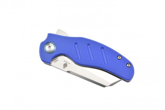V3488C3 C01C par Sheepdog lame en acier 154CM et manche en G10 bleu