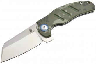 Kizer V3488C4 C01C par Sheepdog knives lame acier 154CM manche G10 camo