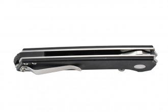Kizer V3516N1 Domin - Lame acier N690 et manche en G10 noir