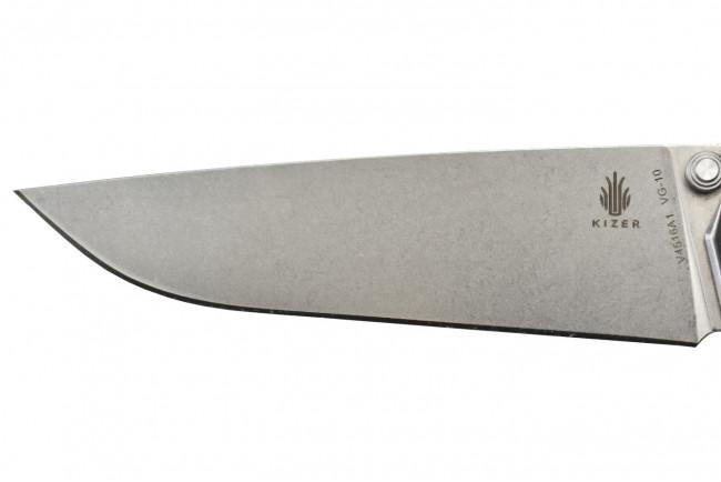 V4516A1 Domin couteau lame acier VG10 et manche en G10