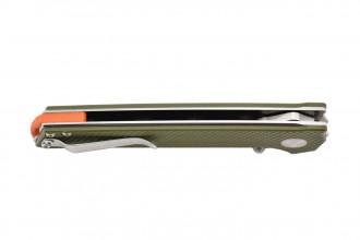 Kizer V4516A2 Domin - Lame acier VG10 et manche en G10 vert