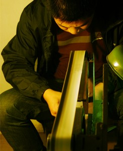 Ceinture de Sunder pour l'affûtage des couteaux Kizer